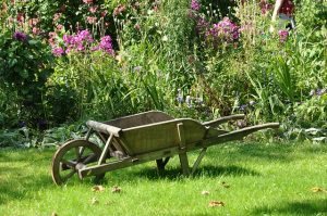 brouette de jardin