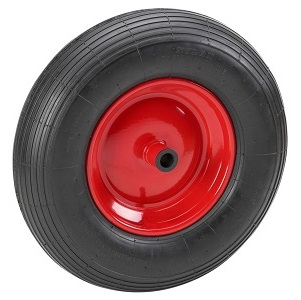 roue de brouette pleine