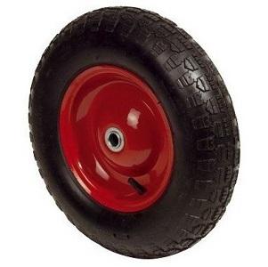 roue de brouette gonflable